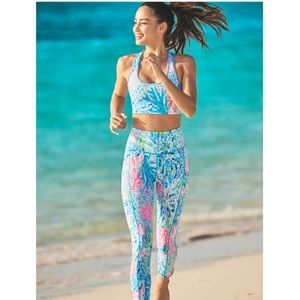 NWT Lilly high rise WEEKENDER legging sink or swim